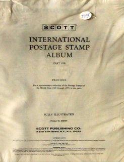 International Stamp Album Pages 1949 55 Kenya Zanzibar 3B IIIB w Label