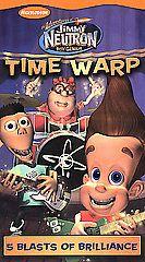 The Adventures of Jimmy Neutron, Boy Genius   Time Warp VHS, 2003