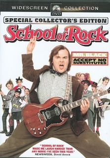 the school of rock dvd 2004 widescreen  for