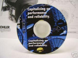 newly listed kohler engine service repair manual