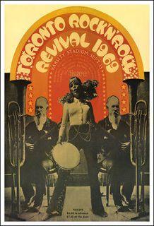 DOORS JOHN LENNON BERRY RICHARD TORONTO ROCK N ROLL REVIVAL 1969