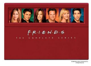 Friends   The Complete Series Collection DVD, 40 Disc Set Digipak Back