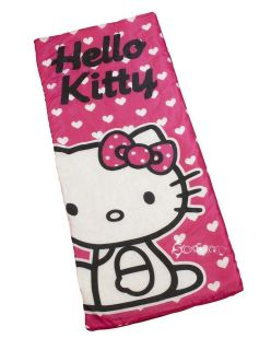 official hello kitty sleeping bag with carry bag location united