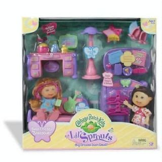 Cabbage Patch Kids Lil Sprouts Sleep Over Party new in the box