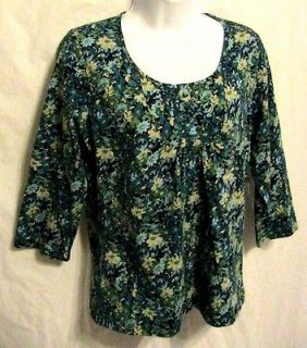 st johns bay blouse size SM S petite womens top shirt NEW NWT clothes