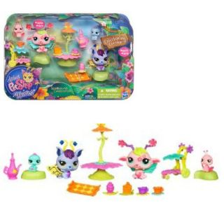 Littlest Pet Shop Fairy Glistening Garden Spellbound Celebration