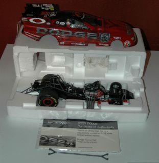 Gary Scelzi 1/16th scale Oakley Dodge NHRA Mopar Funny Car 2003