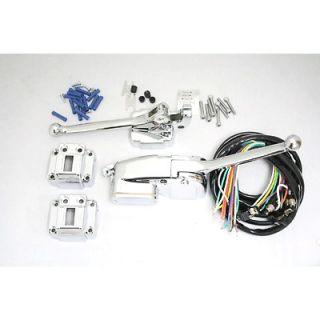 chrome handlebar controls in Body & Frame
