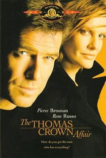 The Thomas Crown Affair DVD, 2009, Spa Cash