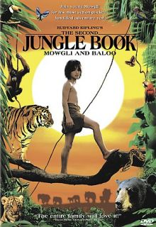 Rudyard Kiplings The Second Jungle Book Mowgli and Baloo DVD, 2001