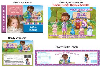 McStuffins ~ Birthday Party Ticket Invitations Supplies Favors Photo