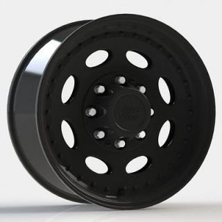 19.5 Vision 81 Black Wheels Tires Chevy GMC 2500 3500 8Lug 8x6.5
