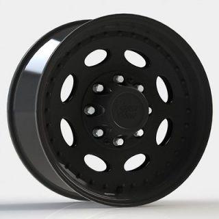 19.5 Vision 81 Black Wheels Tires Chevy GMC 2500 3500 8Lug 8x6.5
