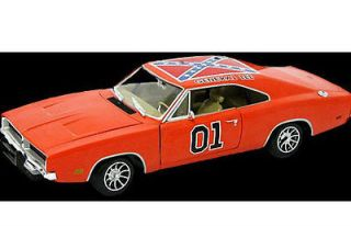 JOHNNY LIGHTNING 1/18 SCALE DUKES OF HAZZARD GENERAL LEE DODGE DIECAST