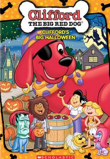clifford big red dog cliffords big halloween dvd new brand