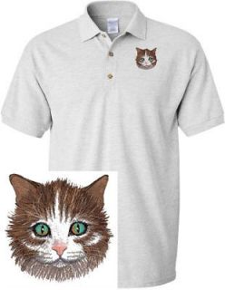 MAINE COON KITTEN DOG & CAT SHIRT SPORTS GOLF EMBROIDERED EMBROIDERY