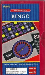 Bingo Mini Magnetics Game Great Travel Game Party Favor Party Supplies