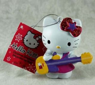 hello kitty purple guitar christmas ornament nwt more hk sanrio