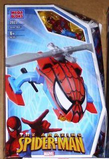 Mega Bloks Spiderman 2023 Helicopter Transporter 46 Pcs NEW  SEALED