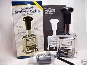 Newly listed ROGERS AUTOMATIC NUMBERING STAMP MACHINE   NEW