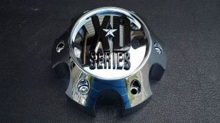 KMC XD Series XD 796 797 798 Chevy 6 lug Chrome Wheel Center Cap