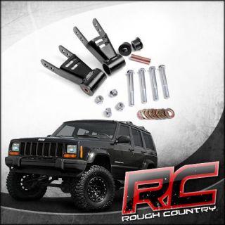 Jeep Cherokee XJ Rear 2 Shackle Lift Kit (Fits Jeep Cherokee Laredo
