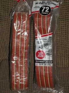 Two 72 Feet Wellington Vintage Lawn Chair or Chaise Lounge Webbing