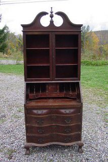 Winthrop Ball and Claw Secretary Desk Restoration Project UPSTATE NY