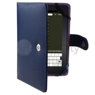 For  New Kindle Fire 1 & 2 Premium PU Leather Case Cover 7 7