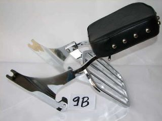 NEW HARLEY SOFTAIL FAT BOY HERITAGE CUSTOM DELUXE SPRINGER BACKREST