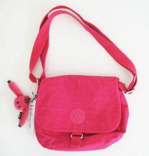 kipling maceio crossbody brink pink bag hb6269 nwt