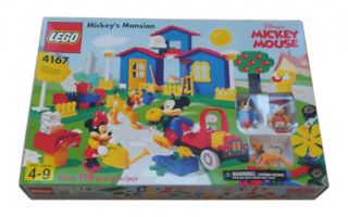Lego Mickey Mouse Mickeys Mansion 4167