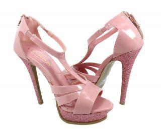 BN Fashion LILIANA Pump Party/Ball/Prom Platform Lady 5 High Heel