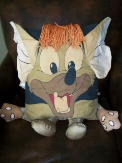 Disney plush Oliver & company stuffed 1988 TITO dog pillow people pal