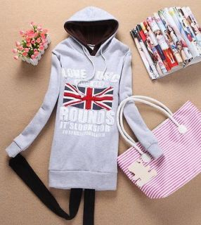 Hoodies Hooded Pullover Sweats Outerwears Letters Union Jack 4902