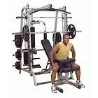 GS348QP4 Series 7 Linear Bearing Smith Machine Deluxe Gym Package
