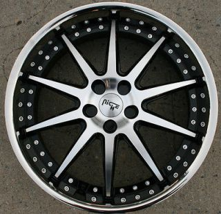 22 BLACK RIMS WHEELS FORD TAURUS MERCURY SABLE 96 07/ 22 X 9.0 5H +38