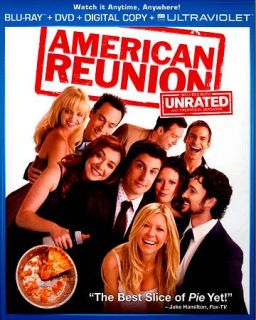 American Reunion Blu ray Disc, 2012, 2 Disc Set, UltraViolet Includes