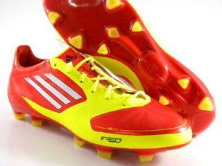 promo code 090c4 dbf97 ... F50 II Syn RedYellowWhi te Soccer Futball Cleats Boots Men Shoes NEW  ADIDAS adiPower Predator TRX FG Soccer ...