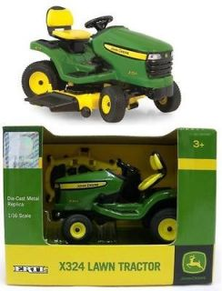2012 Ertl 116 John Deere X324 Lawn & Garden Tractor Mower *NIB*