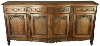 Newly listed VINTAGE FRENCH COUNTRY OAK LOUIS XV SERVER SIDEBOARD