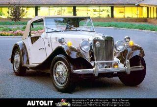 1952 1981 mg td mgtd migi fiberfab vw kit car