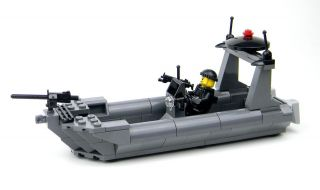 custom lego navy seal attack boat rhib one day shipping