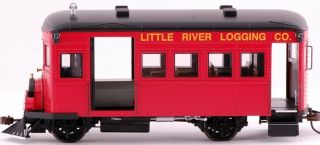On30 Scale Train Rail Bus DCC Equipped Little River Logging 28463