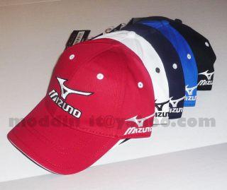 BRAND NEW MIZUNO 2013 TOUR ADJUSTABLE CAP HAT w/RUNBIRD TOUR LOGO