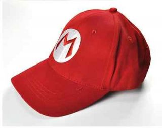 Super Mario Bros Cosplay Baseball M Hat Mario Red Cap FM0516A CC