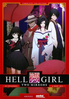 Hell Girl Two Mirrors   The Complete Second Season DVD, 2011, 4 Disc