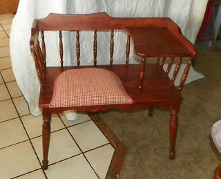 cherry telephone bench gossip bench bn5 time left $ 299