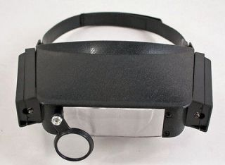 Newly listed Jewelers Loupe Lighted Magnifying Glass Head Visor Tool