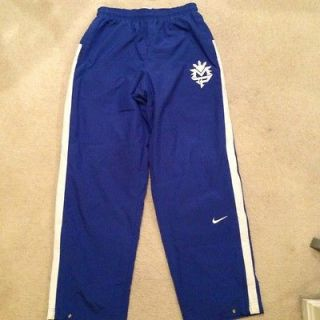 nike manny pacquiao training blue pants l